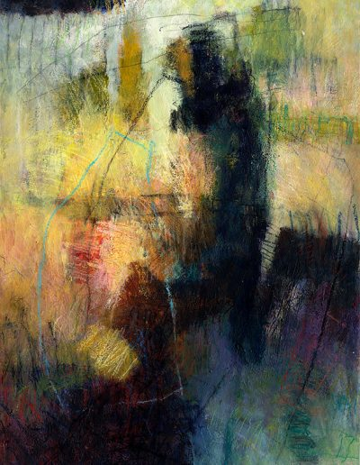 Abstract painting in acrylics: Looking Beyond £490