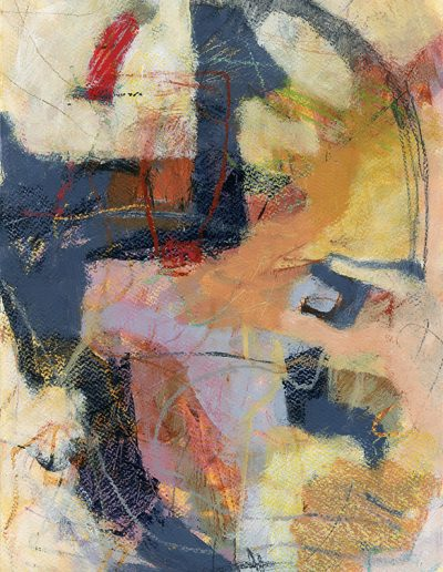 Abstract painting in acrylics: Not Fixed Not Forced: £360
