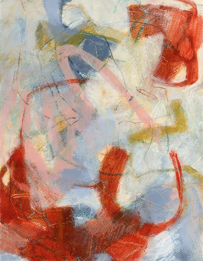 Abstract painting in acrylics: Unfold Your Own Myth £360