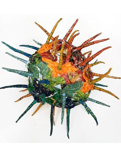 sculpture from plastic waste £200