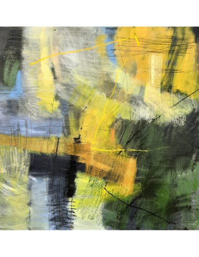 Abstract painting in acrylics: Antique Joy £410