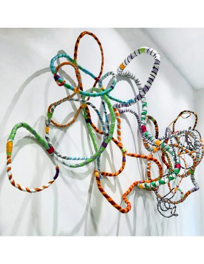 Sculpture from plastic waste £750