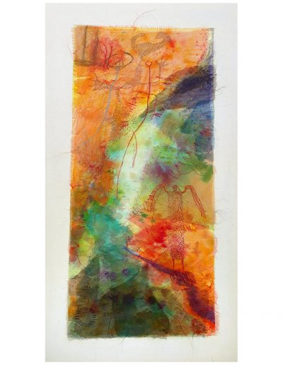 Textile artwork, Passing Through £600