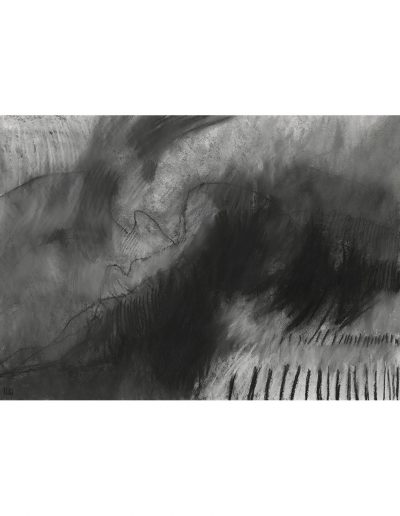 Abstract drawing in pastels: Snow Storm 2 £470