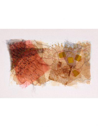 textile artwork Tea for One no.2 £240
