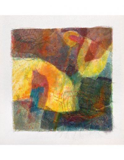 textile artwork Telling the Time £500