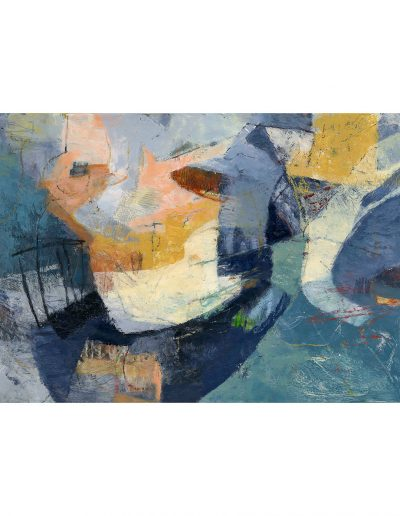 Abstract painting in acrylics: That Salt Breath £490