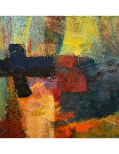 Abstract painting in acrylics: The Moment After £450