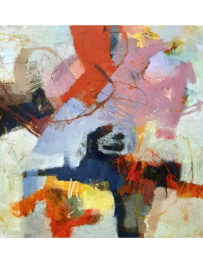 Abstract painting in acrylics: The Path Less Travelled £450