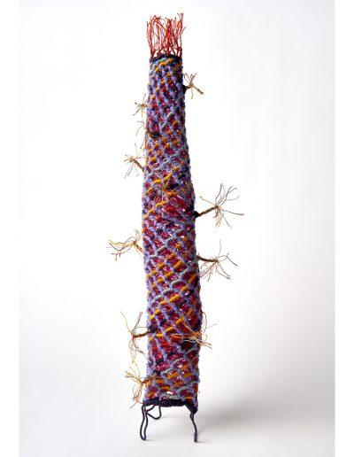 sculptural textile Undersea Chimney (SOLD)
