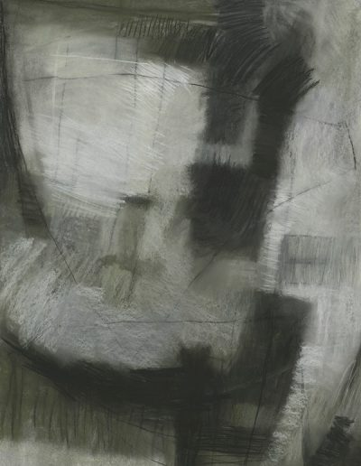 Abstract drawing in pastels: Winter's Mist £470