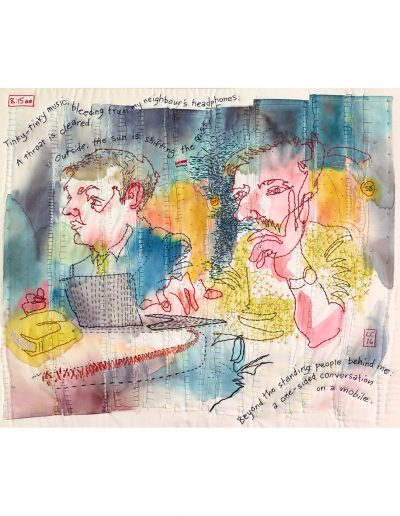 textile artwork Commuters £380