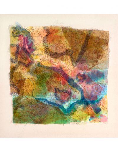 textile artwork Ladybower £600